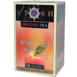 Stash Tea Company 武夷 白桃花草茶:18 個茶包~ Premium Wu