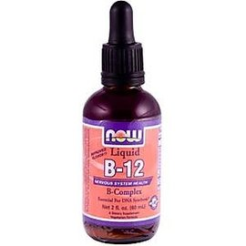 維他命  維生素 B~12 B群液體:2 oz ^(60 ml^) ~ Now Foods