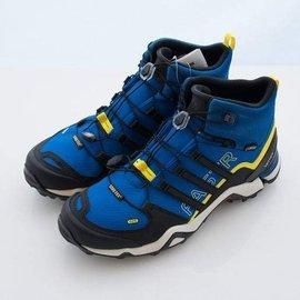 三葉草之家 ADIDAS Q21352 - TERREX FAST R MID GTX 黑藍 防水 高筒 登山鞋/戶外運動鞋,自取價$3450