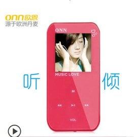 Mi #x02665 全美銷售冠軍秒殺 ONN q2 4g 迷你mp3 播放器mp4 有屏
