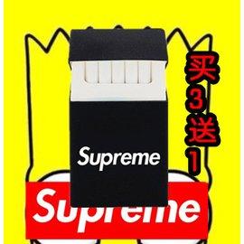 包郵原宿風彩色 膠煙盒夜店supreme超人KITTY潮情侶男女 煙套