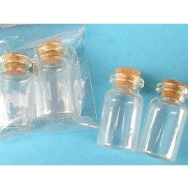 ~優購 館~軟木玻璃罐 ^( 共24個入 ^) 軟木玻璃瓶 軟木塞星沙瓶 瓶中信玻璃瓶 ^