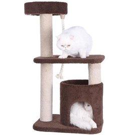 ~全國包郵~出口美國Armarkat貓爬架貓樹貓跳台貓玩具劍麻F3703