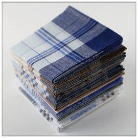棉之樂回味 復古男士女士全棉純棉傳統手帕手絹2014年
