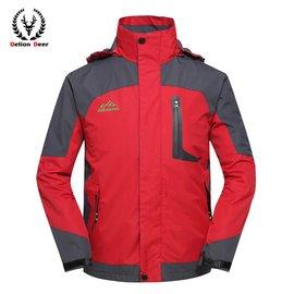 款男女裝戶外正品衝鋒衣外套 防風保暖 加厚款登山服保暖棉衣