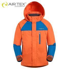 AIRTEX亞特 正品 兒 戶外男女童防水透氣外套 單層衝鋒衣