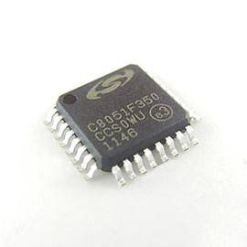 貼片  C8051F350 微控制器 768B RAM LQFP~32   58064