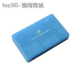 萬能讀卡器SD MMC Micro sd 飆王SSK 讀卡器琥珀全能王讀卡器 正品SCRM