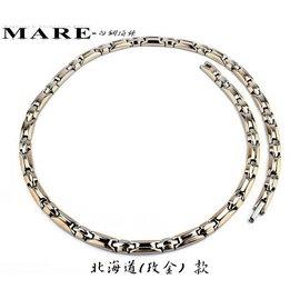~MARE316L項鍊~: 北海道 ^(限定玫瑰金^)金屬鍺 款