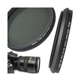 Nicna 可調減光鏡 49mm 可調ND中灰鏡 灰度無級可調ND2到ND400