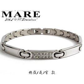 ~MARE~316L白鋼系列~: 總裁 ^(亮^)窄 款