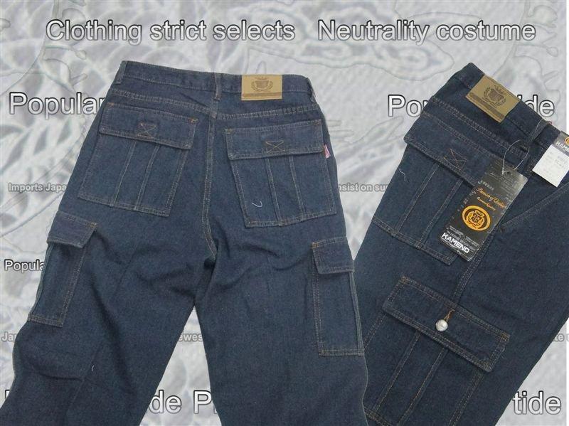 商场裤子叠法步骤图片