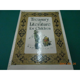 ~精裝本~~Treasury of Literature for Children~七成