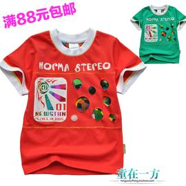 專櫃  兒童POLO衫 男童女童寶寶 純棉短袖圓領T恤潮版