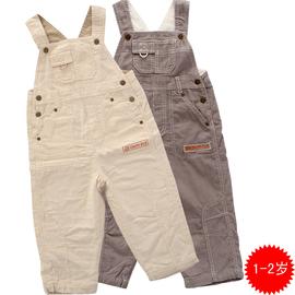 明星狗正品嬰童春裝 1~2歲男童純棉背帶褲嬰幼服弔帶褲兒童長褲
