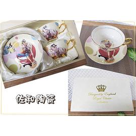 ^~佐和陶瓷餐具^~~01GC1450D~13 夢幻少女咖啡杯組~單入^(四款花色^)~咖