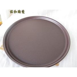 ~佐和陶瓷餐具~47A9~13NC~咖啡止滑圓托盤~