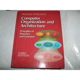 ~老殘 書~~Computer Organization and Architecture