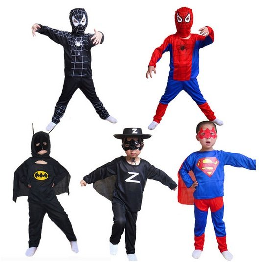 小孩qq头像超人衣服