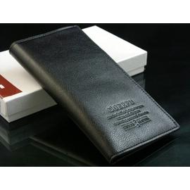 JAS 商務 潮多 真皮男士錢包男長款錢包男式錢夾多卡位牛皮皮夾