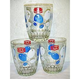L.^(企業寶寶玩偶娃娃^)已稍有年代早期聲寶玻璃杯3個^!^!~~具收藏價值^! 6房樂