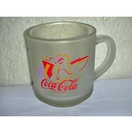 L皮.^(企業寶寶玩偶娃娃^)少見 可樂^(Coaa Cola^)霧面玻璃杯值得擁有^!^