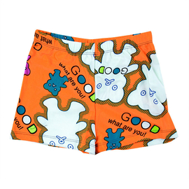 正品中大男童分體遊泳衣 兒童防曬泳裝溫泉嬰兒寶寶小孩平角泳褲