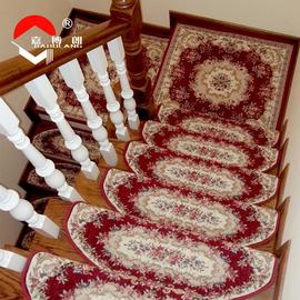 歐式樓梯墊 免膠自粘腳墊 防滑自吸樓梯地毯 地墊 踏步墊 可訂做