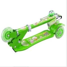 小孩折疊三輪四輪滑板車兒童滑輪車兩輪雙輪二輪閃光滑滑車
