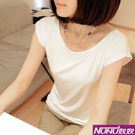2014款夏裝簡約哥弟t恤女短袖阿瑪施專櫃正品 牛奶絲修身顯瘦