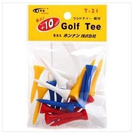 LITE球釘tee 高爾夫球座 T~21高爾夫球短TEE 塑膠球托高爾夫用品