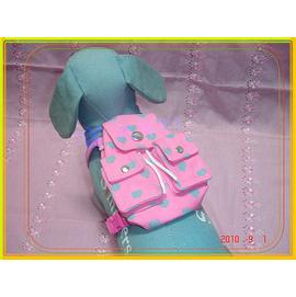 ^~^~寶兒寵物舍^~^~ 寵物 ^~ ~ 桃心 寵物用背包 + 胸背帶 + 拉繩 ~↘下