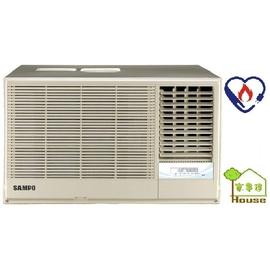 ^~ 家事達 ^~SAMPO聲寶~AW~PA52R~右吹定頻窗型冷氣機  8~10坪~~台