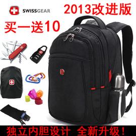13款正品瑞士軍刀雙肩書包男女電腦背包雙肩包 潮旅行包包S007