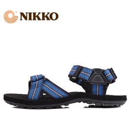 NIKKO日高戶外男沙灘鞋男女涼鞋織帶防滑舒適EVA舒適大底沙灘涼鞋
