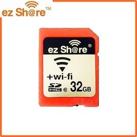 又敗家~ez Share無線SDHC卡32G 臉書facebook分享照片 SD記憶卡ES