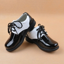 兒童皮鞋男童花童禮服鞋男孩學生單鞋紳士童鞋演出鞋男童皮鞋