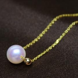 ~尊貴大氣典雅低調~ 海水珍珠 18金腳鏈手鏈 7.5
