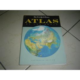 書12好書321~旅遊休閒收藏~世界地圖集 The New York Times Atla