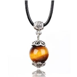 水晶天然水晶吊墜項鏈 包郵情侶民族風 純半寶石 正品