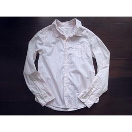 瑞典H  M淺粉色細格ZARA ESPRIT ELLE款女童棉質襯衫 10~11Y