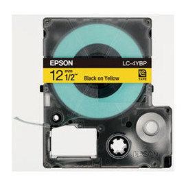 •~ 含稅~EPSON C53S625004 LC~4YBP標籤帶 ^(寬度12mm^)