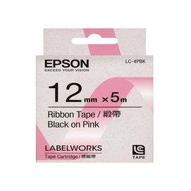 •~ 含稅~EPSON C53S625030 LC~4PBK標籤帶 ^(寬度12mm^)