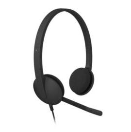 •~ 貨 含稅附發票~羅技 Logitech USB 耳機麥克風H340 耳麥組