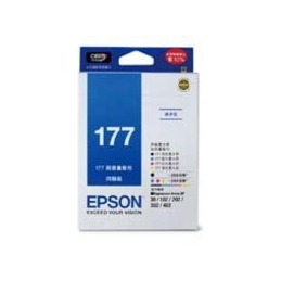 •~ 貨 含稅附發票~EPSON 墨水匣 T177650量販包 177 量販包^(177M