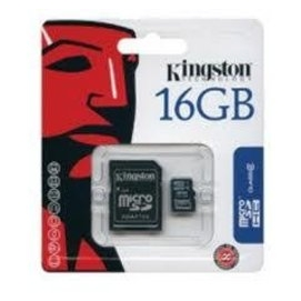 •~ 貨 含稅附發票~Kingston Micro SDHC 16GB class 4 附