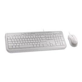 ~ 貨 含稅附發票~microsoft 鍵盤滑鼠組 600 白色 ^( APB~00020