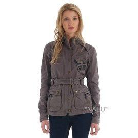 ^~NALU^~SUPERDRY 極度乾燥 灰色 軍款夾克男 女款
