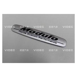 大台北汽車 HONDA CIVIC 喜美九代 9代 MODULO 樣式 鋁合金銘牌 台北威