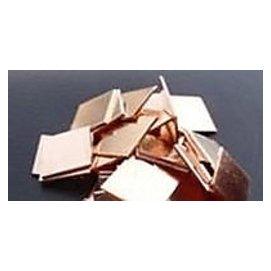 紫銅片15MM*15MM*0.5mm 筆記本 顯卡導熱墊 散熱片 純銅片 1克  30個一